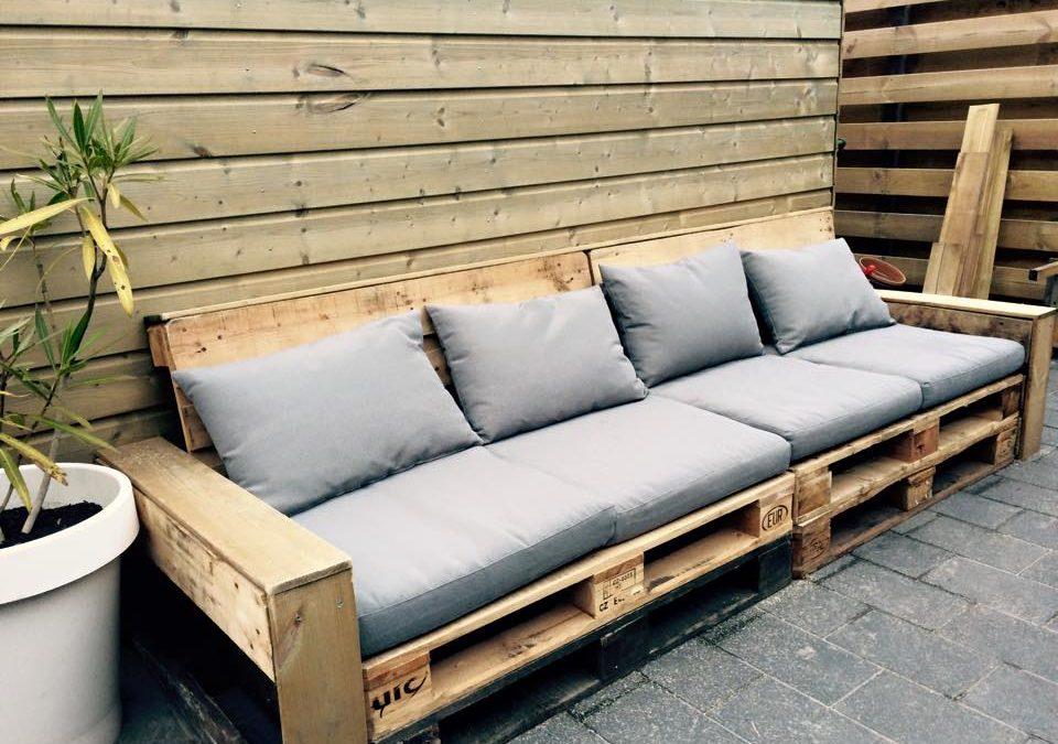 Basic Pallet Lounge Bank