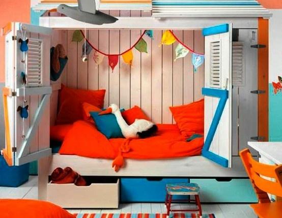 Kinderkamer Kinderkamer Bedden : Knusse bed huisjes voor in de kinderkamer leef! interieuradvies