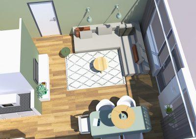 Appartement_Groningen_bovenaanzicht_leef_interieuradvies