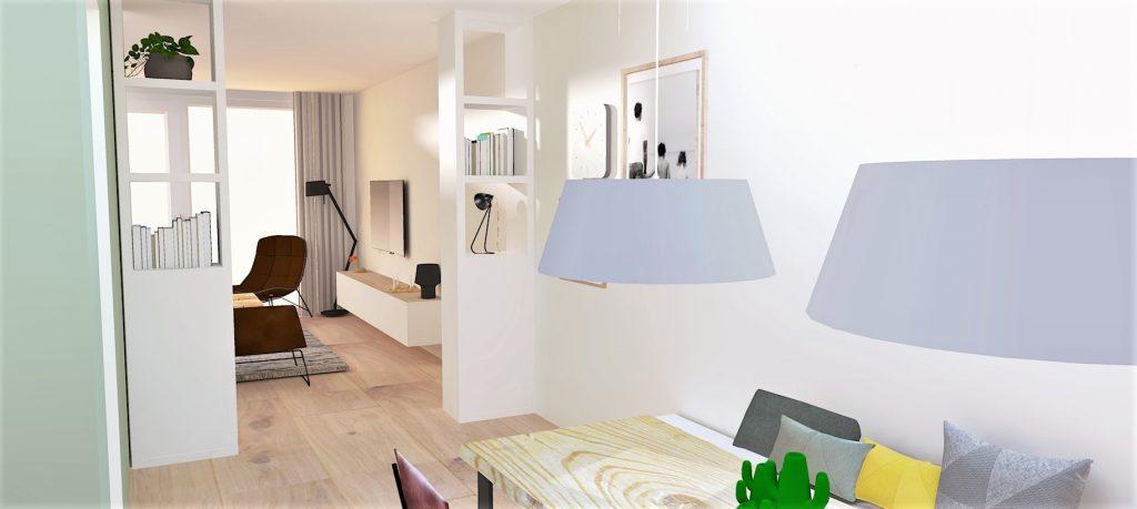 Woonkamer nieuwbouwwoning Drachten | LEEF! interieuradvies