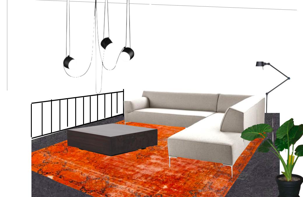 Vide In Woonkamer : Kadewoning woonkamer vide werkplek en pianohoek leef